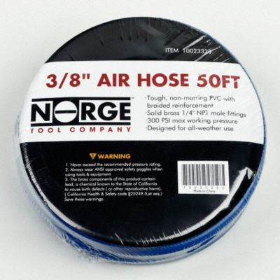 3/8&#034; x 50 Ft. Air Hose